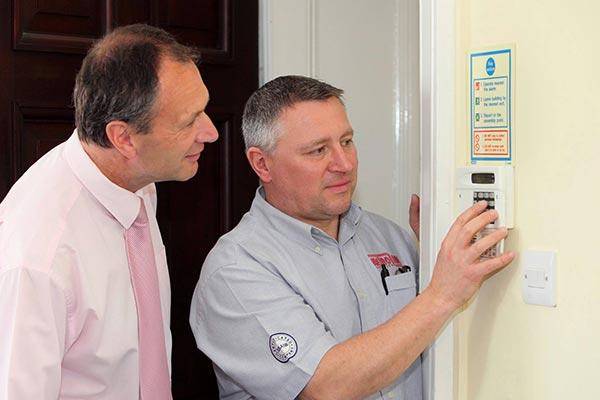 Intruder Alarm Control Panels