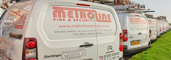 Metroline Fire and Security of Folkestone Kent